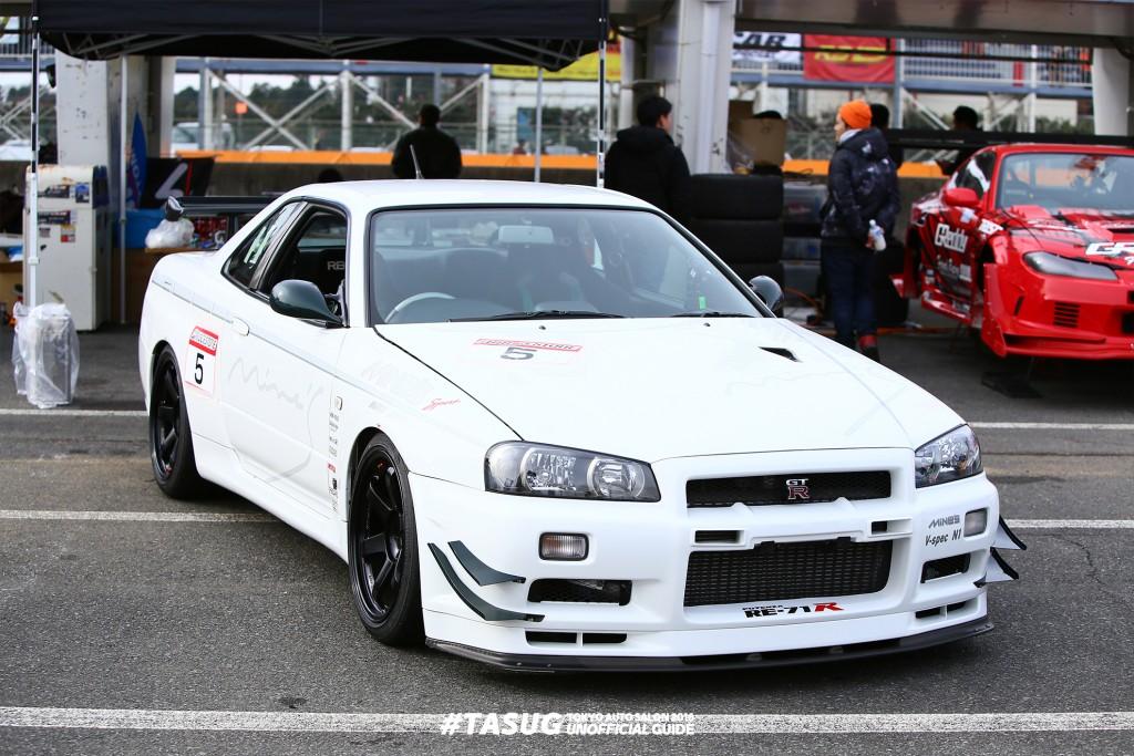 Mine's SKYLINE GT-R (BNR34)