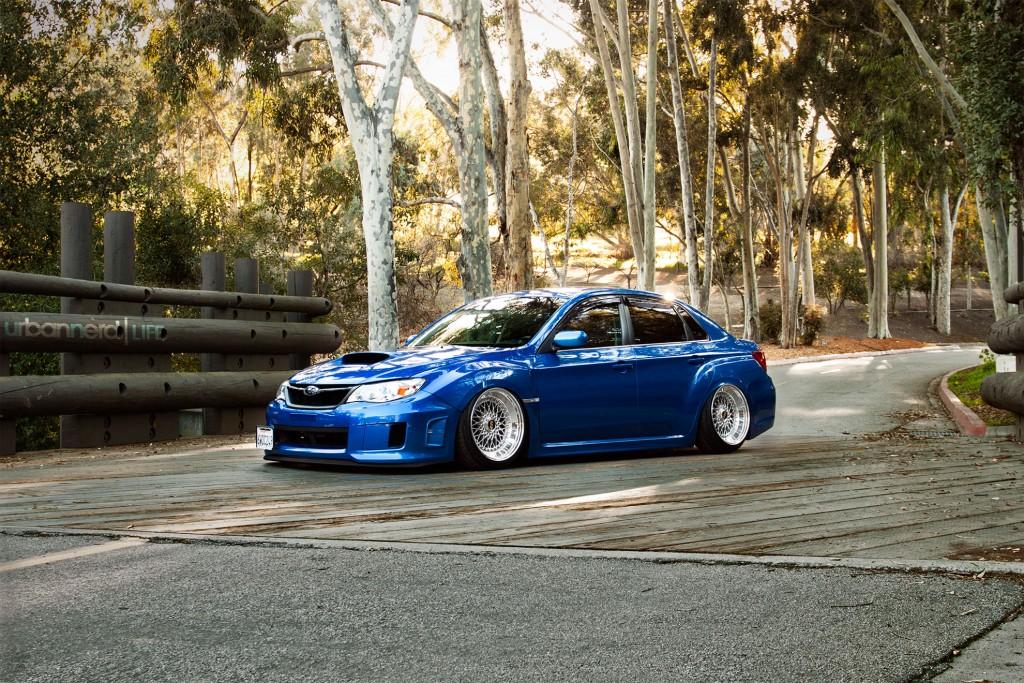 Stanced Subaru Impreza WRX