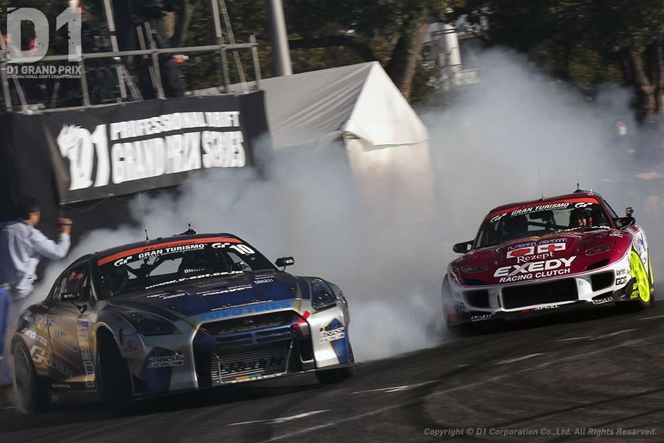 東京オートサロン 2015 D1グランプリ・キックオフドリフト&モータースポーツデモラン