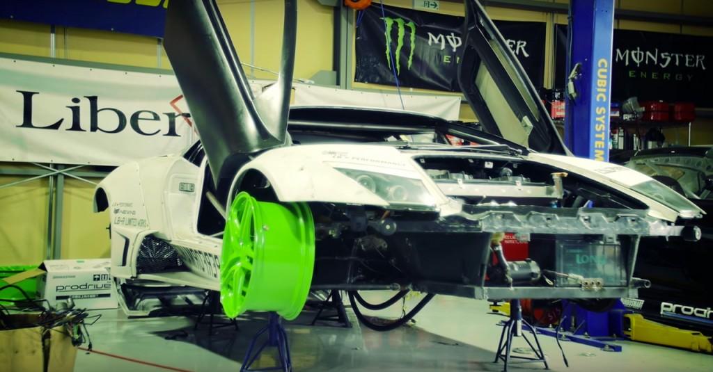 LB-WORKS Lamborghini Murcielago