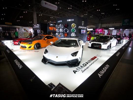 東京オートサロン2016 AIMGAINブース