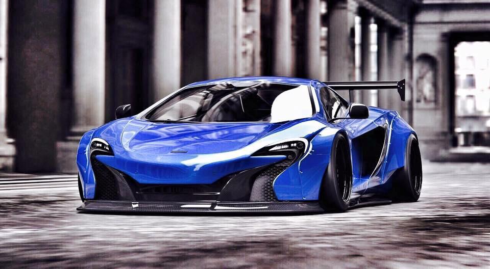 NEW LB★WORKS McLaren 650S